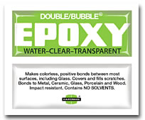 Double/Bubble Green WATER CLEAR 04004